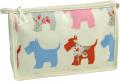 Vagabond Scottie Dog Oil Cloth Holdall Washbag Toiletries