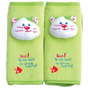 MaByLand Kitty Seat Belt Strap Covers