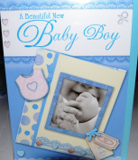 Baby Boy Card for New Birth