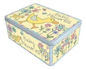 Baby Memories - Large Keepsake Tin with a Duck Design
