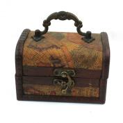 Chic Decorative Gift Vintage Gracious Wooden Jewellery Box Storage Organiser Case