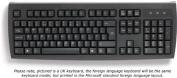 Polish keyboard, black, USB