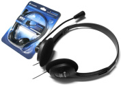 Skype Headset for Work, Home, Office, PC, Laptop, Computer, Desktop | New Headphones for Internet Chat Speak | 3.5mm Connexions| by iChoose®