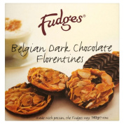 Fudges Belgian Dark Chocolate Florentines 140G