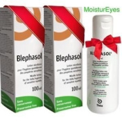 2 x Blephasol 100ml Sensitive Eyelids Eye Lotion