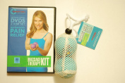 Jill Miller Yoga Tune Up Massage Therapy Full Body Kit - Therapy Balls & 2-Disc DVD