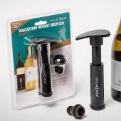 Vacuum Wine Saver Black