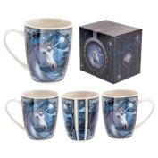 Lisa Parker Licenced Unicorn Bone China Mug Product Model - MULP20