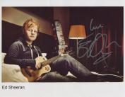 Ed Sheeran SIGNED Photo 1st Generation PRINT Ltd 150 + Certificate
