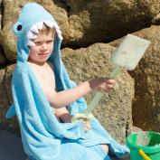 Childrens Character Towel - Shark - Blue