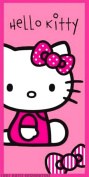 Hello Kitty Outline Pink towel