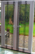 Multi Panel Fly Screen Door Charcoal 150cm x 250cm