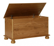 NJA Furniture Copenhagen Blanket Box, 45 x 83 x 42 cm, Antique Pine