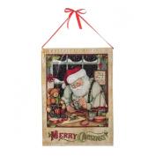 Santa's Workshop LED Banner