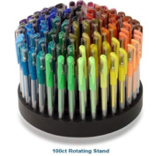 GelWriter Premium Gel Pens in a Rotating Stand - 100 Count