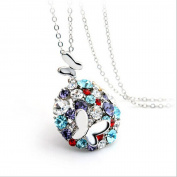 Cytprimedesign® Two Butterfly Forever Together for Hope & Love chain