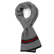 Men's Scarf Knitted Gentlemen Dress Scarf Fall and Winter Unisex Scarf