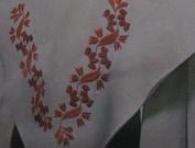 Vintage Coats & Clarks #5856 Embroidery Creative Stitchery Heat Transfer Kit