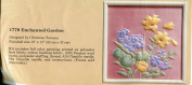 The Creative Circle #1779 Enchanted Garden Embroidery Picture Kit
