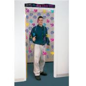 2m the Big Five Oh Happy 50th Birthday Party Door Doorway Curtain Decoration