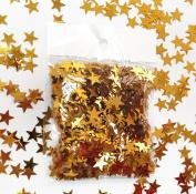 Gold Star Tabletop Confetti