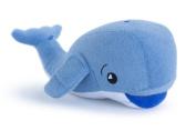 As Seen on Shark Tank, Soapsox Stuffed Animal Bath Scrub Sponge, Washcloth, Doll, Toy for Babies or Kids, Jackson the Whale