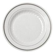 Disposable Reusable Appetiser Dinner Dessert Salad Plate for Party Catering Wedding Birthday Anniversary Shower