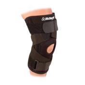 McDavid Classic Logo 425 CL Level 2 Knee Support W/ Stays & Cross Straps - Black - Medium