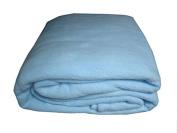 Alta Luxury Hotel Fleece Blanket-Full-Blue