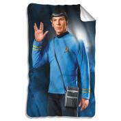 Mr. Spock -- Star Trek -- Fleece Throw Blanket