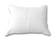 Be-you-tiful Home CC603WSS Linen Quilted, Standard, White