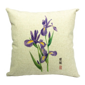 JTC Throw Pillowcases Flowers Cushion Covers Protectors 18*46cm