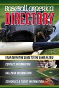 Baseball America 2015 Directory