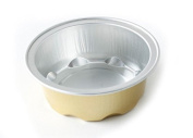 KEISEN 7.1cm mini Disposable Aluminium Foil Cups 50ml for Muffin Cupcake Baking Bake Utility Ramekin Cup 100/PK