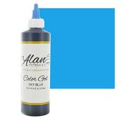 Sky Blue Premium Food Colour Gel, 300mls (240ml) by Chef Alan Tetreault