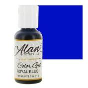 Royal Blue Premium Food Colour Gel, 90ml by Chef Alan Tetreault