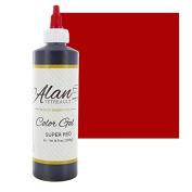 Super Red Premium Food Colour Gel, 300mls (240ml) by Chef Alan Tetreault