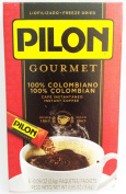 PILON GOURMET 100% COLOMBIAN INSTANT COFFEE 6 - 5ml INDIVIDUAL PACKETS