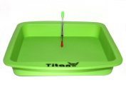 TitanOwl Silicone Deep Dish Container Tray Aprox 20cm x 20cm + Carving Scrape Tool