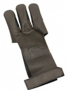 OMP Leather Shooting Glove Brown Medium Rh/lh