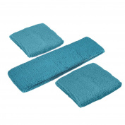 GOGO Thick Solid Colour Sweatband Set