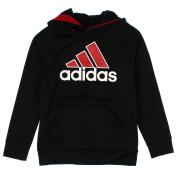 Adidas Boys 8-20 Performance Pull Over Hooded Sweatshirt