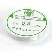 0.8mm Clear Plastic Stretchy Thread Line for Necklace