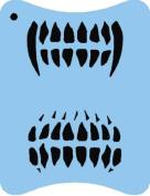 StencilEyes - QuickEZ/Teeth Design Stencil #41