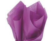 New Plum Purple Bulk Tissue Paper 38cm X 50cm - 100 Sheets