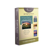 12 Pack Boxed Set Landscape Sympathy Cards, Bulk with KJV Scripture - Lighthouse, Tree, Water Greeting Cards for Her for Him