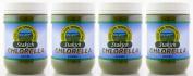 Stakich CHLORELLA POWDER 1.8kg (in four 1.8kg jars) - 100% Pure, Top Quality
