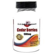 Cedar Berries 900mg * 90 Caps 100 % Natural - by EarhNaturalSupplements