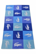 Crocodomino Beach Towel