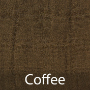 BambooMN Brand - Super Soft 70% Rayon from Bamboo 30% Organic Cotton Wash Cloth, 535 GSM - 12pc - Coffee
